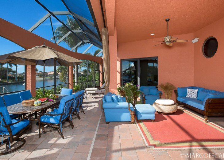 BOUNTY COURT - Waterfront Tuscan Villa on Marco Island! #5