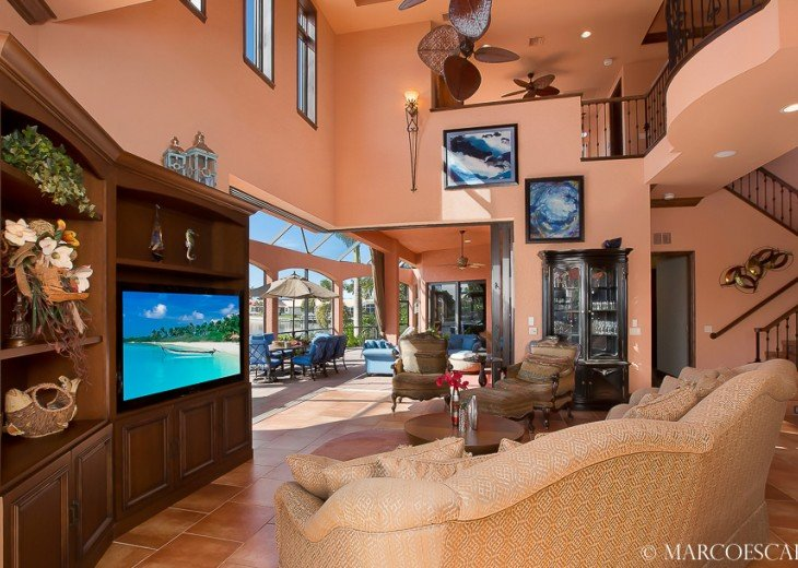 BOUNTY COURT - Waterfront Tuscan Villa on Marco Island! #4