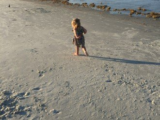 Miles of beautiful white sand beach