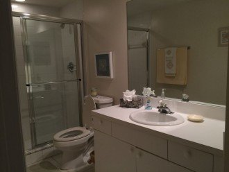 Common Bathroom with large Shower