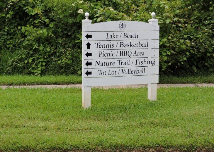 Amenities at Lake Berkley