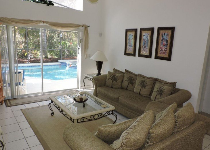 Stunning Villa with own pool/spa and Conservation view. Gated Resort near Disney #8