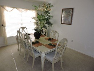 Your formal dining area