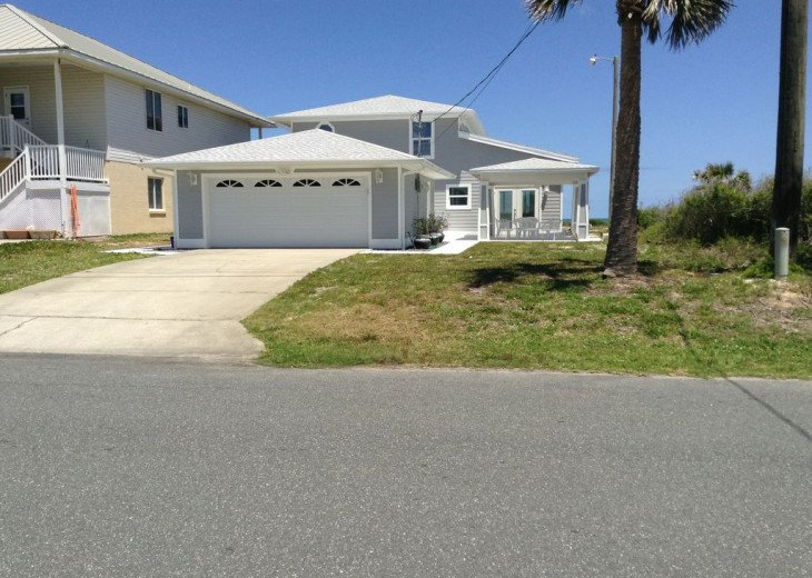 "BEAUTIFUL NEW 3/4 2 STORY DIRECT OCEAN ""Mo. Rtes Avl."" NEAR ST.AUGUSTINE/DAYTONA #20"