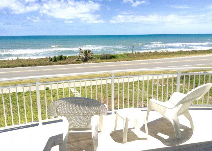 "BEAUTIFUL NEW 3/4 2 STORY DIRECT OCEAN ""Mo. Rtes Avl."" NEAR ST.AUGUSTINE/DAYTONA #2"