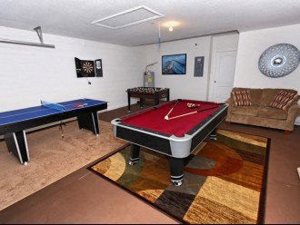 Cypress Pointe Premier Spacious Pool/Spa home, Games Room #1