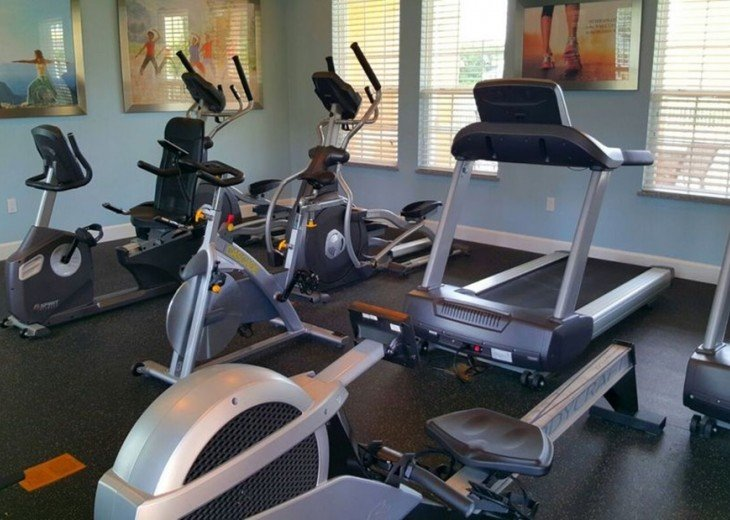 Gym for if you feel like doing some exercise!