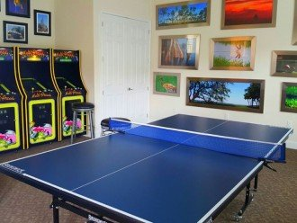 Games room for all to enjoy!
