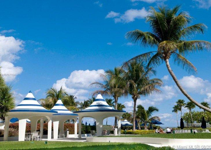Free Cabanas at the pool
