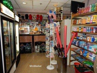 Mini Market on the first floor