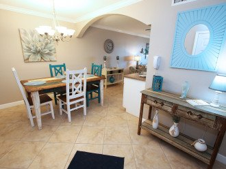 Dining Area With That Coastal Theme