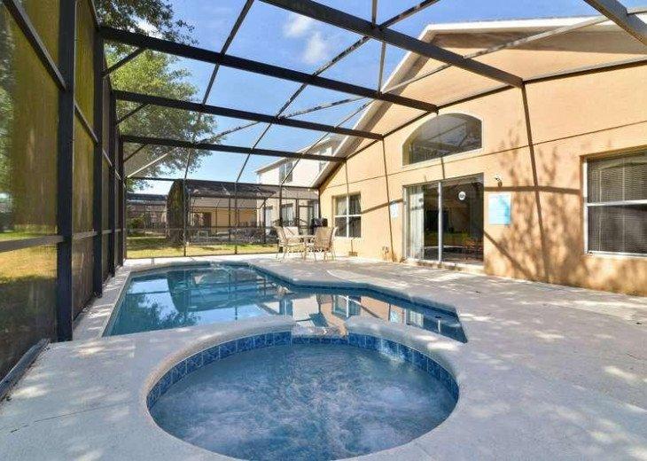 4 Bed 3 Bath Shooting Star Emerald Island Resort Pool, Spa And Gameroom Home #8