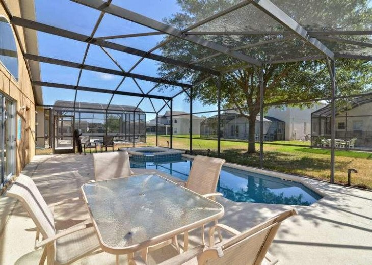 4 Bed 3 Bath Shooting Star Emerald Island Resort Pool, Spa And Gameroom Home #10