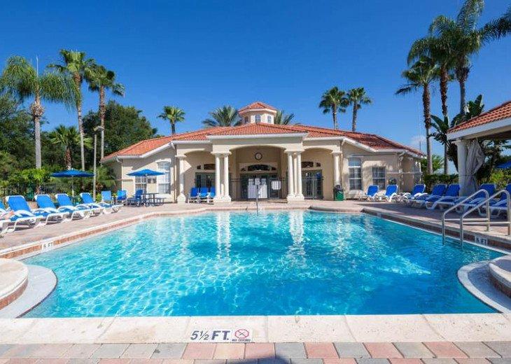 4 Bed 3 Bath Shooting Star Emerald Island Resort Pool, Spa And Gameroom Home #17