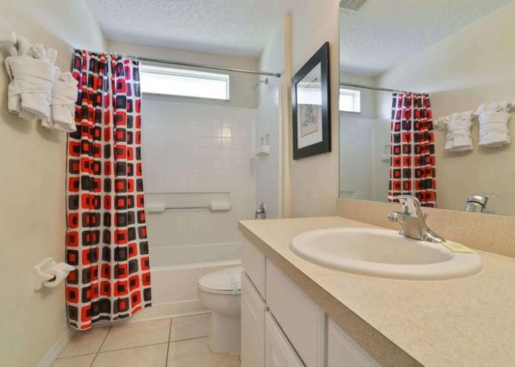 4 Bed 3 Bath Shooting Star Emerald Island Resort Pool, Spa And Gameroom Home #14