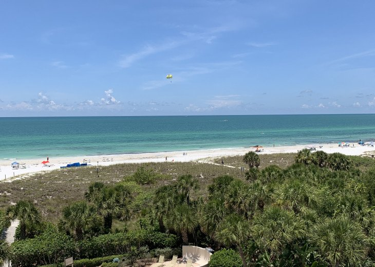SIESTA KEY #1 voted Beach in America- property right on Siesta Key Beach #57