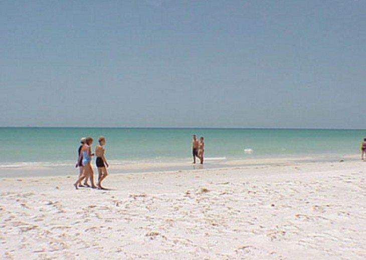 SIESTA KEY #1 voted Beach in America- property right on Siesta Key Beach #20