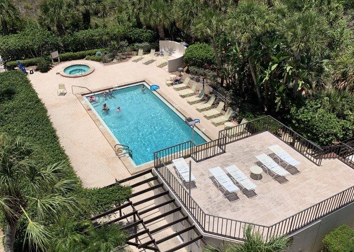 SIESTA KEY #1 voted Beach in America- property right on Siesta Key Beach #22