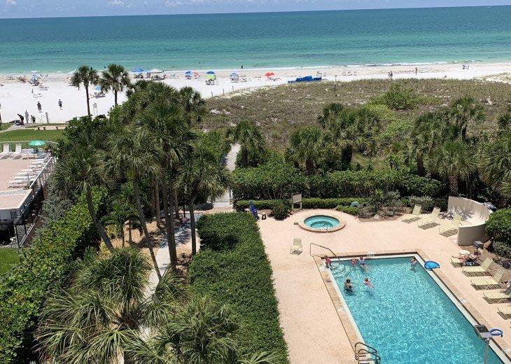 SIESTA KEY #1 voted Beach in America- property right on Siesta Key Beach #21