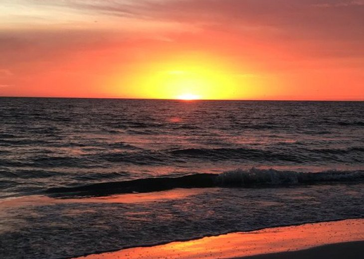 SIESTA KEY #1 voted Beach in America- property right on Siesta Key Beach #62