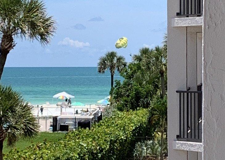SIESTA KEY #1 voted Beach in America- property right on Siesta Key Beach #50