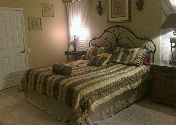 Master bedroom number 1 with huge walk in closet.