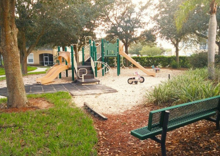 Playground by the community pool!