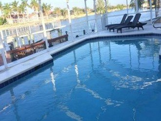 heated oversized pool
