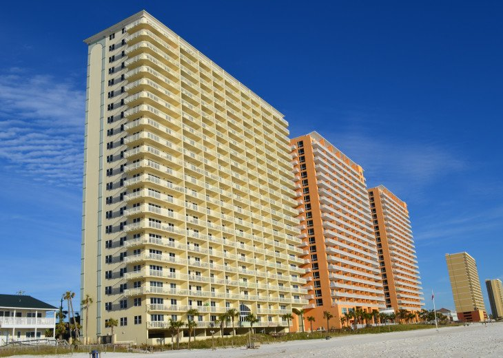*Top Floor View*Beach Service*Wi-Fi*Cozey & Inviting*A Second Home for All!* #26