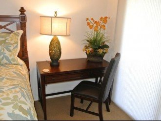 Master Bedroom desk.