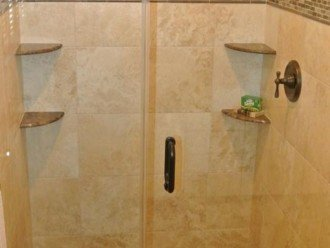 Tile and marble showers.