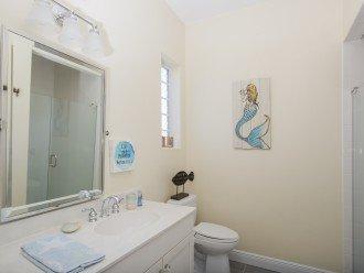 Bedroom #3's bathroom with shower