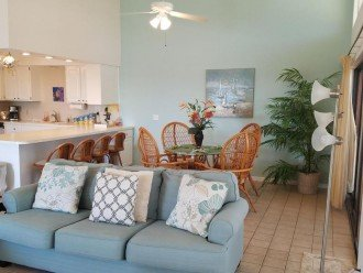 Vaulted OPEN concept floor plan, all facing ocean views & breeze across street!