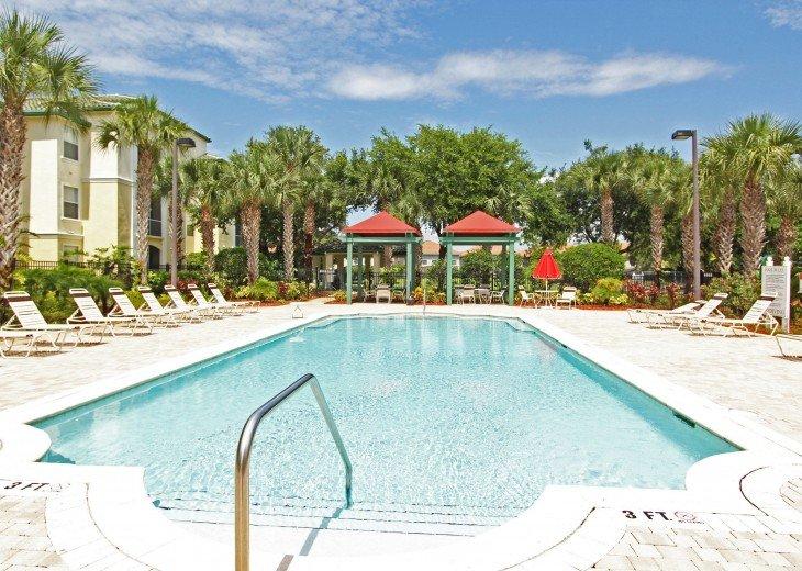 Pool near our condo - a few yards away