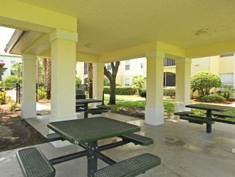 BBQ and picnic area - close but not too close to our condo