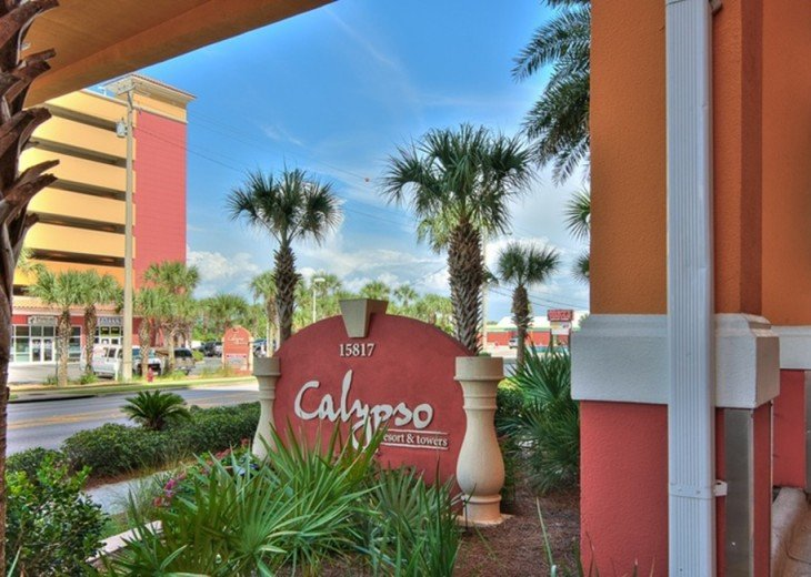 Entrance of Calypso Resort
