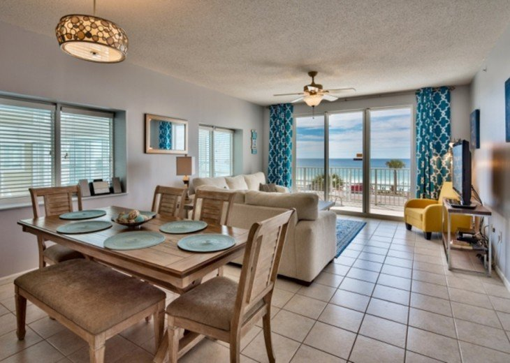 3 Bedroom Condo Rental In Destin Fl Reduced Spring Oceanfront Beachfront 3 Bed 3 Ba Condo
