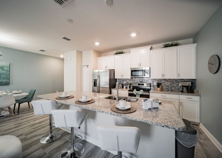 Champions Gate 4 Br Townhome features exceptional golf course and resort #22