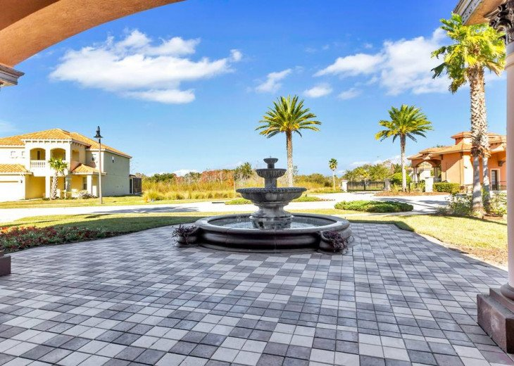Aviana Resort 5 Br pool/spa 10 miles to Disney. Overlooks greenery & pond #44