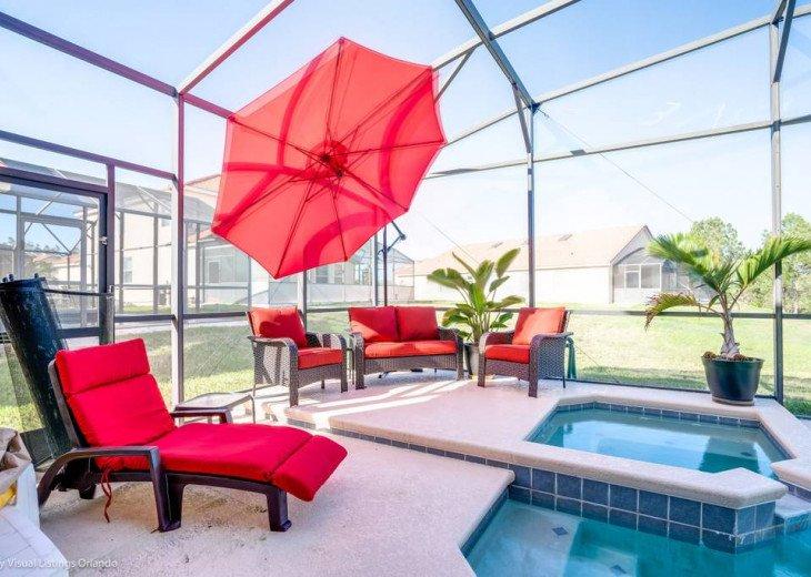 Aviana Resort 5 Br pool/spa 10 miles to Disney. Overlooks greenery & pond #32