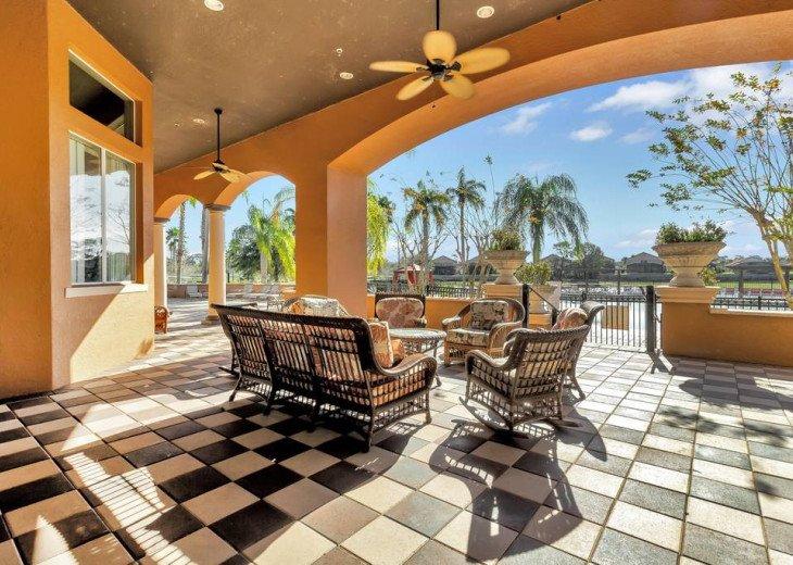 Aviana Resort 5 Br pool/spa 10 miles to Disney. Overlooks greenery & pond #46