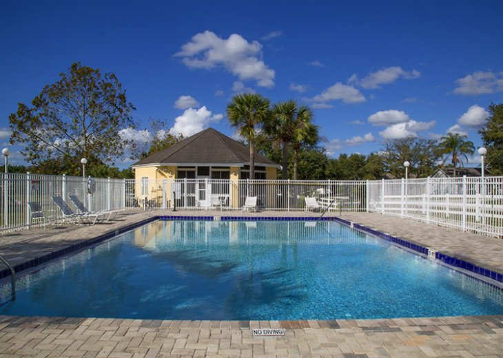 Stay in this beautiful Davenport 4 br vacation pool home in Westridge Resort #31