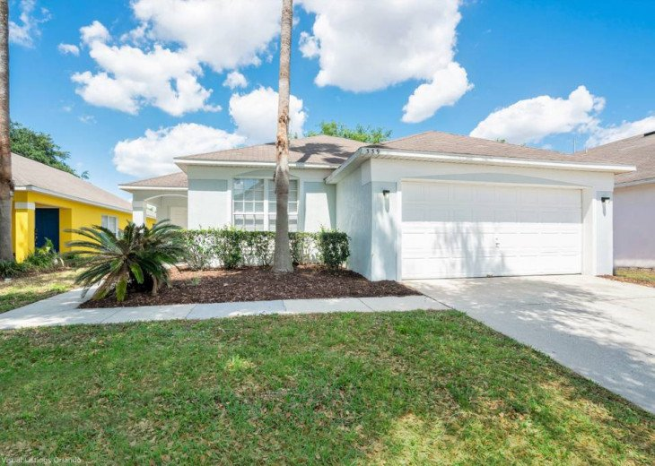 Stay in this beautiful Davenport 4 br vacation pool home in Westridge Resort #1