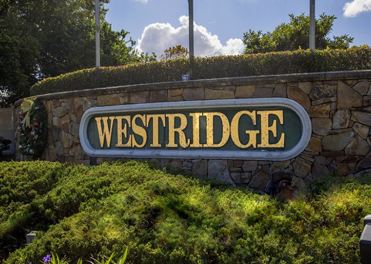 Stay in this beautiful Davenport 4 br vacation pool home in Westridge Resort #27