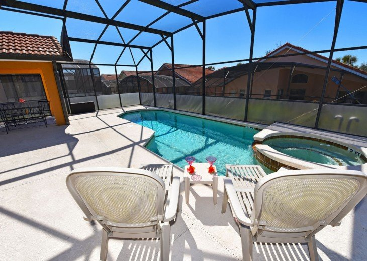 FREE Pool/Spa Heat for January!! 5BR Pet Friendly Contemporary Home #23