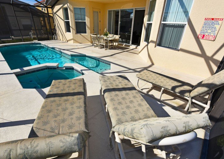 FREE Pool/Spa heat for Jan! 5 br home located in Aviana w/ game room #22