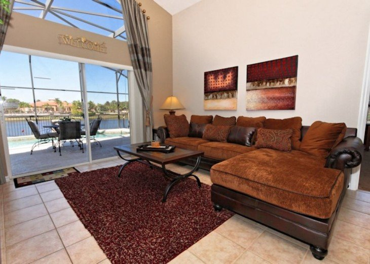 FREE pool/spa heat for January! Luxury! 4BR home Game room & Lake Front #8