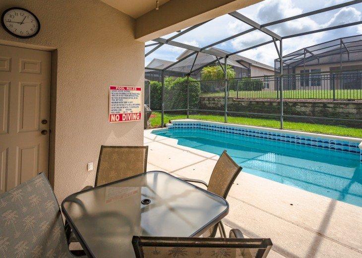 Discover newly refurbished 4 BR Windsor Palms Resort #28