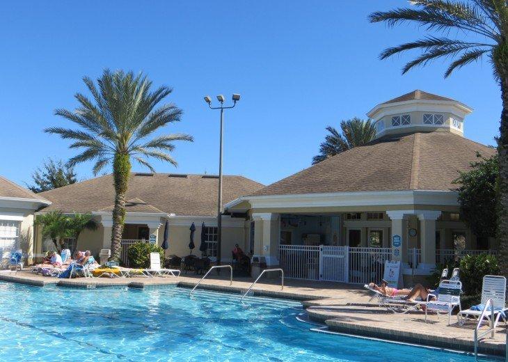 Discover newly refurbished 4 BR Windsor Palms Resort #43