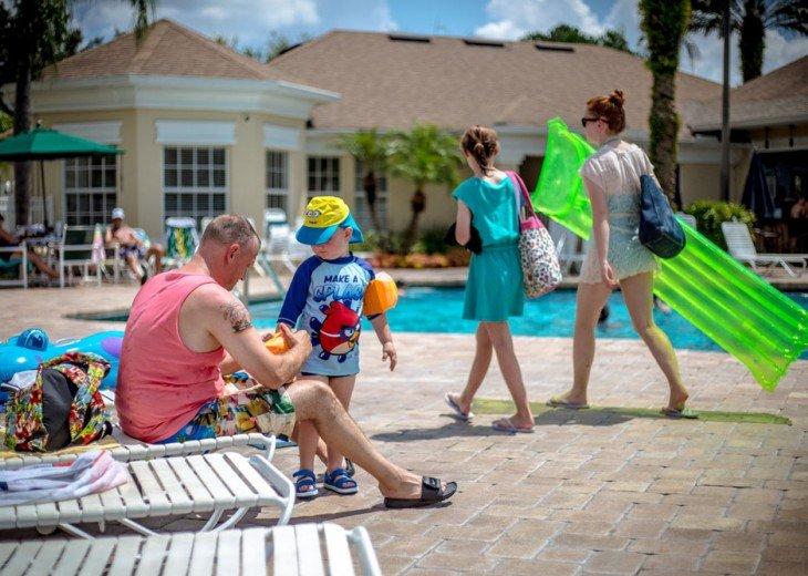 Discover newly refurbished 4 BR Windsor Palms Resort #33